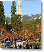 Uc Berkeley . Sproul Plaza . Sather Gate . 7d9998 Metal Print