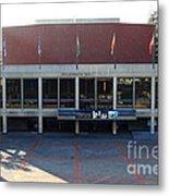 Uc Berkeley . Zellerbach Hall . 7d10012 Metal Print by Wingsdomain Art and Photography