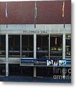 Uc Berkeley . Zellerbach Hall . 7d10013 Metal Print by Wingsdomain Art and Photography