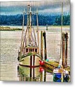 Ucluelet Harbour Hdr Metal Print