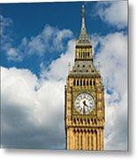 Uk, England, London, Big Ben Metal Print