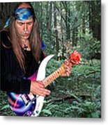 Uli Jon Roth At Muir Woods Metal Print