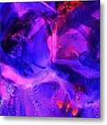 Ultraviolet Metal Print by Colleen Cannon