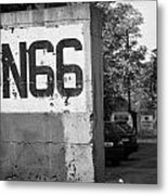 Un Sector 2 City Troop And Post Un66 In The Restricted Area Of The Un Buffer Zone Nicosia Cyprus Metal Print
