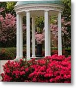 Unc Well In Spring Metal Print