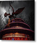 Unchained Protector Metal Print