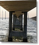 Under Seven Mile Bridge Metal Print
