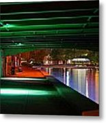 Under The Bridge Metal Print by Joann Vitali