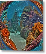 Under The Sea Fantasy World Metal Print