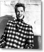Undercurrent, Katharine Hepburn, 1946 Metal Print