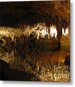 Underground Lake 02. Luray Caverns Va Metal Print
