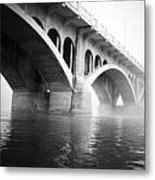 Underneath The Fog Metal Print