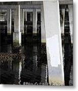Underpass The Reflections  Metal Print