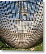 Underside Of Arecibo Radio Telescope Metal Print
