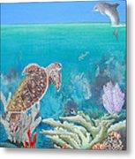 Underwater Glory Metal Print