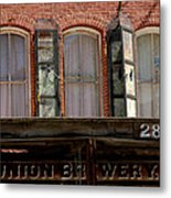 Union Brewery Virginia City Nv Metal Print