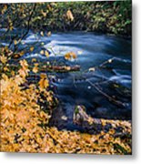 Union Creek In Autumn Metal Print