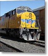 Union Pacific Locomotive Trains . 5d18821 Metal Print