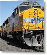 Union Pacific Locomotive Trains . 5d18824 Metal Print