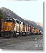 Union Pacific Locomotive Trains . 7d10561 Metal Print