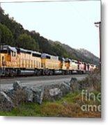 Union Pacific Locomotive Trains . 7d10564 Metal Print