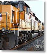 Union Pacific Locomotive Trains . 7d10588 Metal Print
