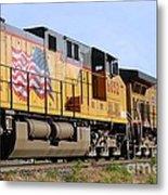 Union Pacific Train Metal Print