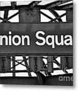 Union Square  Metal Print by Susan Candelario