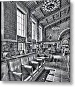 Union Station L.a. Seats 1 Metal Print