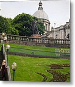 Union Terrace Gardens Aberdeen Metal Print by Karen Kennedy