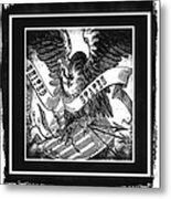 United States Bw Metal Print