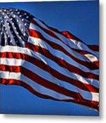 United States Of America - Usa Flag Metal Print