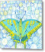 Unity Butterfly Metal Print