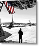 Universal Soldier Metal Print by Greg Fortier
