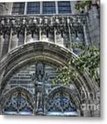 University Of Chicago Chapel Metal Print