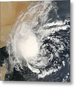 Unnamed Tropical Cyclone Approaching Metal Print