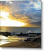 Unsettled Sky Metal Print
