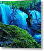 Unstoppable Flow Metal Print
