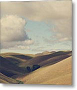 Up Above The Darkness Metal Print