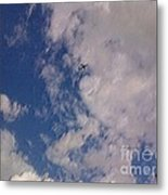 Up In The Clouds 3 Metal Print