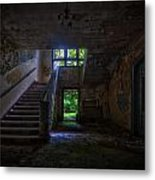 Up Into The Light Metal Print by Nathan Wright