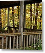 Up North Porch Metal Print