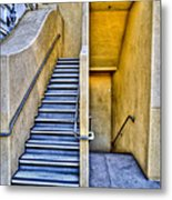 Up Stairs Down Stairs Metal Print