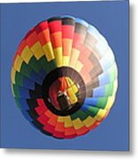 Up The Balloon Metal Print