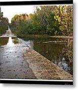Up The Hill To Home Metal Print