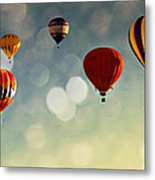 Up There Metal Print