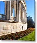 Upclose Of Arlington Memorial Amphitheater Metal Print