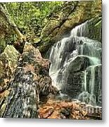 Upper Cascade Hidden Falls Metal Print