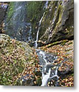 Upper Dark Hollow Falls In Shenandoah National Park Metal Print by Pierre Leclerc Photography
