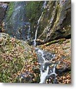 Upper Dark Hollow Falls In Shenandoah National Park Metal Print
